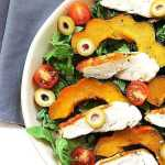 Grilled Chicken Acorn Squash Salad