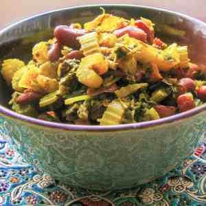 Persian Celery Stew – Khoreshte Karafs