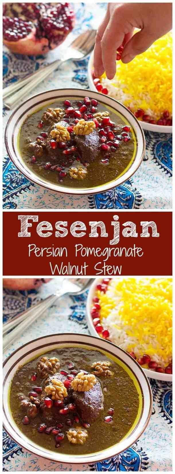 Fesenjan | Fesenjan Chicken | Fesenjan Recipe | Persian Pomegranate Walnut Stew | Fesenjan Chicken | Fesenjan Iran | Fesenjoon | #persianrecipes #fesenjan #fesenjoon #easypersianrecipes #persianfood