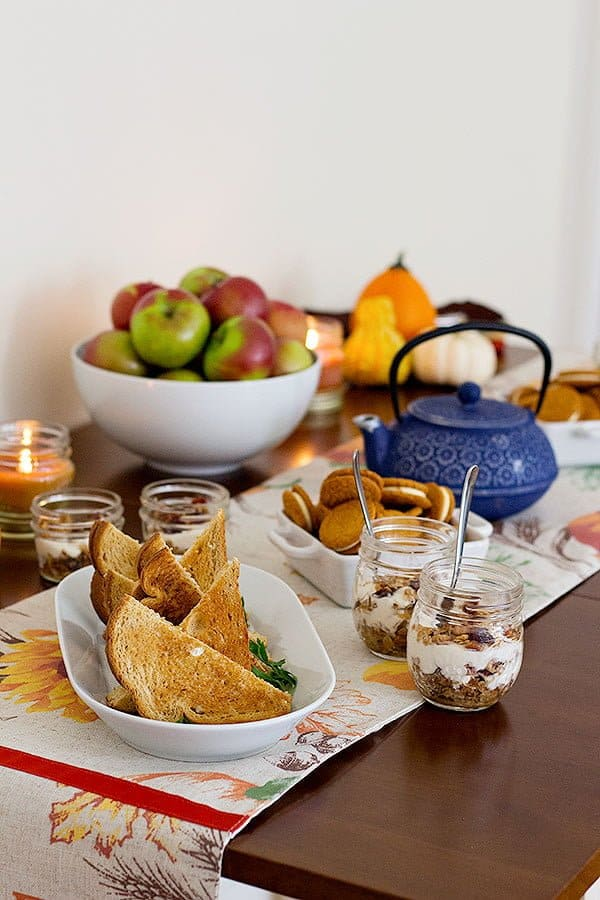 Fall days call for gathering and indoor parties. A fall afternoon party is a great way to gather your favorite people in one place and spend some quality time.