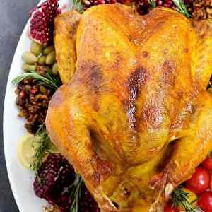 Persian Spiced Turkey (No Brine)