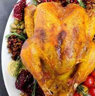 Aromatic Spiced Persian Turkey