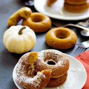 The Best Baked Pumpkin Donuts Recipe