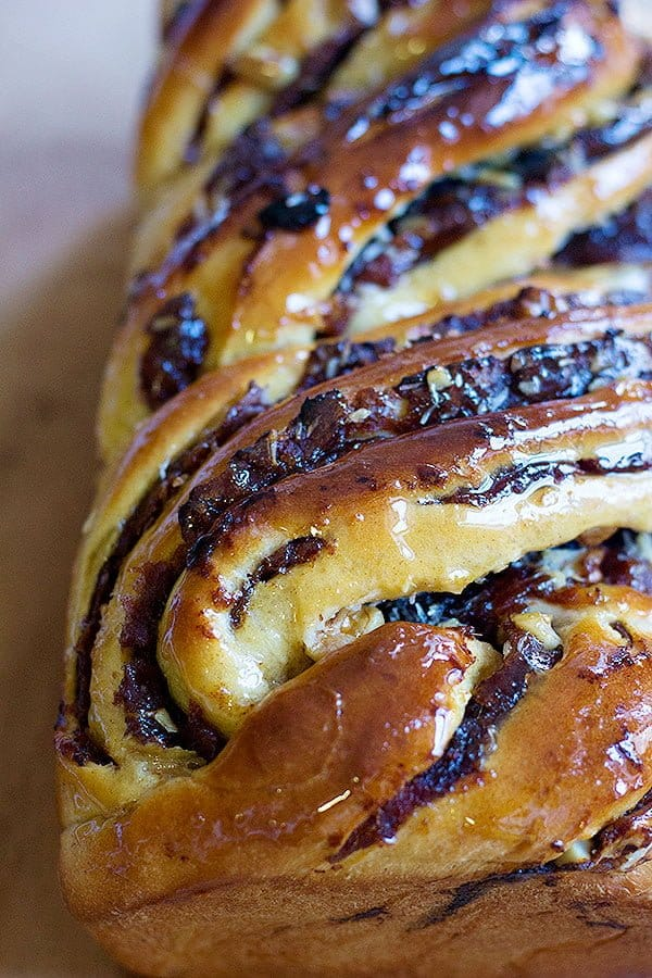Date Walnut Babka is a delicious twist on the traditional babka. Soft dough filled with sweet dates and crunchy walnuts makes a mouth-watering treat.