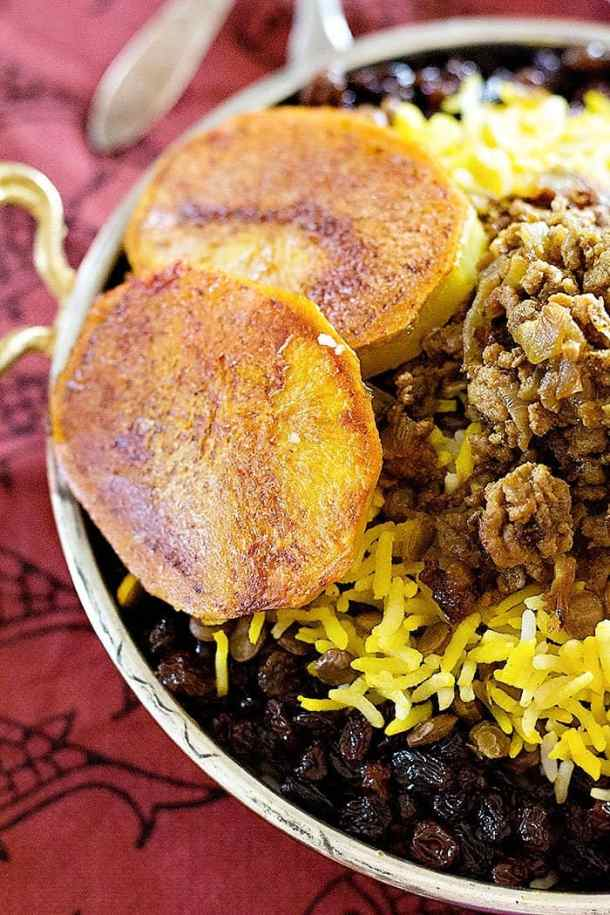 lentil rice also called adas polo is a traditional Persian dish that's very delicious.