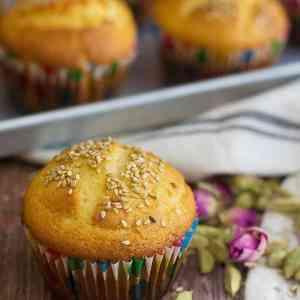 Persian Cardamom Muffins – Cake Yazdi