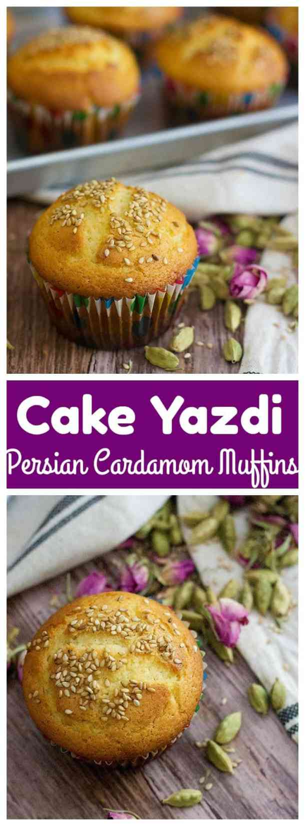 Cake Yazdi Recipe