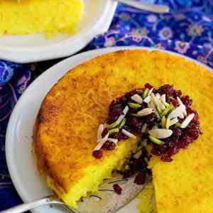 Tahchin – Persian Savory Rice Cake [Video]