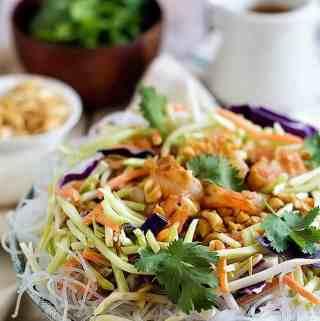 Quick and Easy Shrimp Noodle Salad