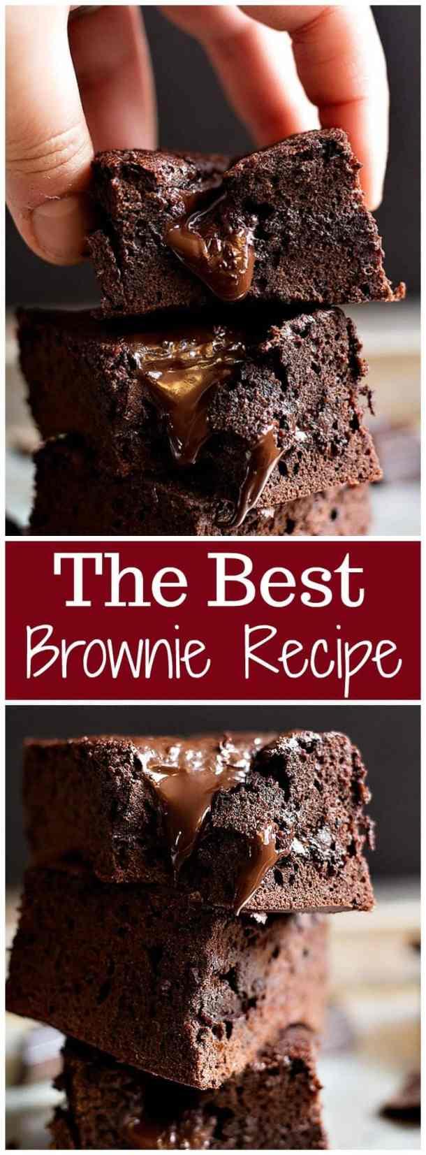 Easy brownie Recipe | Easy Brownie Recipe Simple | Quick Brownie Recipe | Brownie Recipe No Box | Brownie Recipe From Scratch | Brownie recipe easy | brownie recipe homemade | Brownie recipes with cocoa powder | Best Brownies recipe | Unicornsinthekitchen.com
