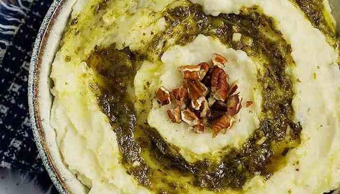 Garlic Butter Mashed Potatoes