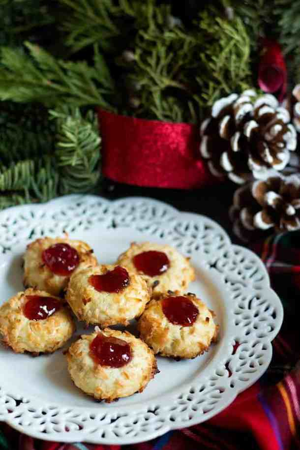 Jam Thumbprint Cookies are perfect cookies to have with a cup of tea in the afternoon. You can fill them with different jam such as strawberry or apricot.