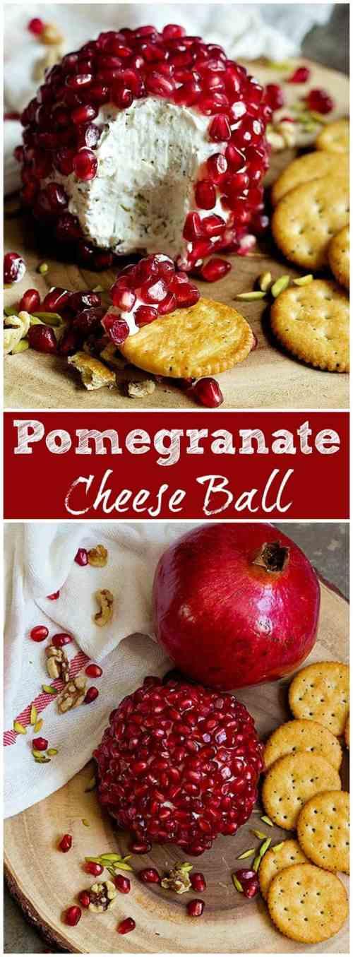 Pomegranate Cheese Ball | Pomegranate Cheese Ball Recipe | Pomegranate Cheese Ball Recipe For | Easy Pomegranate Cheese Ball | #Cheeseball #HolidayCheeseball #HolidayAppetizer