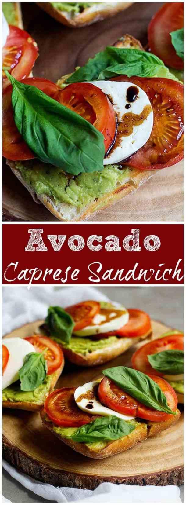 Caprese Sandwich Recipe | Avocado Caprese Sandwich | Caprese Sandwich pesto | Caprese Sandwich Balsamic | Caprese Sandwich Baked | Caprese Sandwich recipe Simple | #Caprese #CapreseSalad #CapreseSandwich #SandwichRecipe #EasySandwich