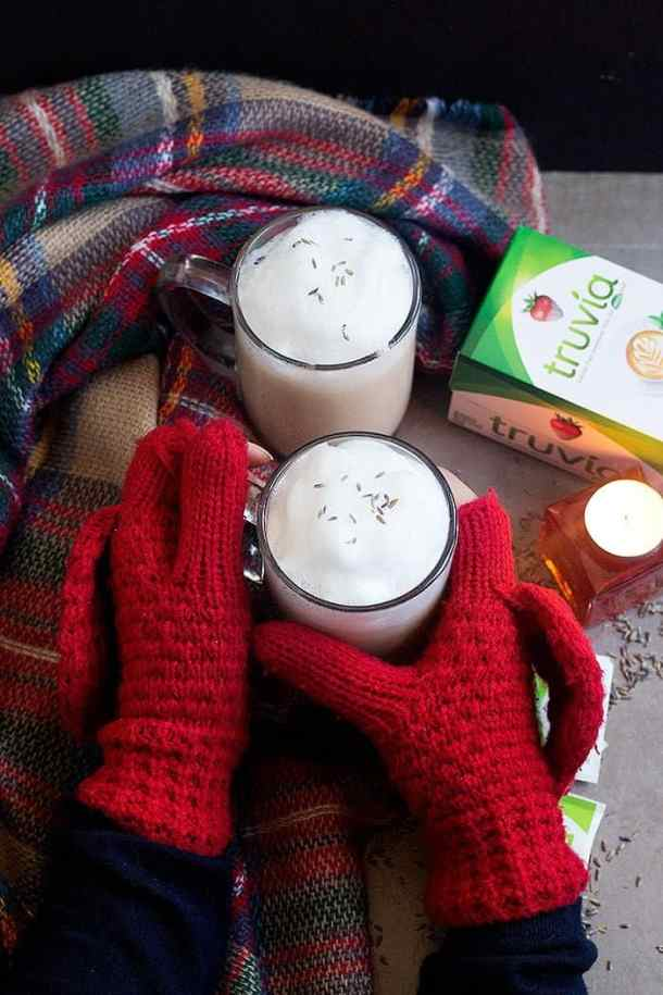 London Fog tea Latte recipe is perfect for cold days.