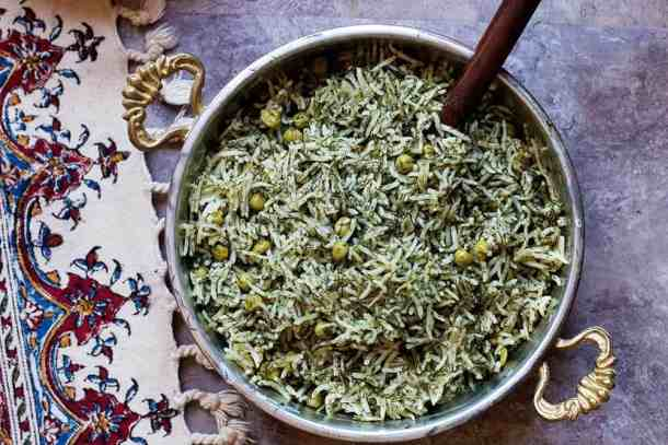 This Dill Rice Recipe is a great option for a side dish.