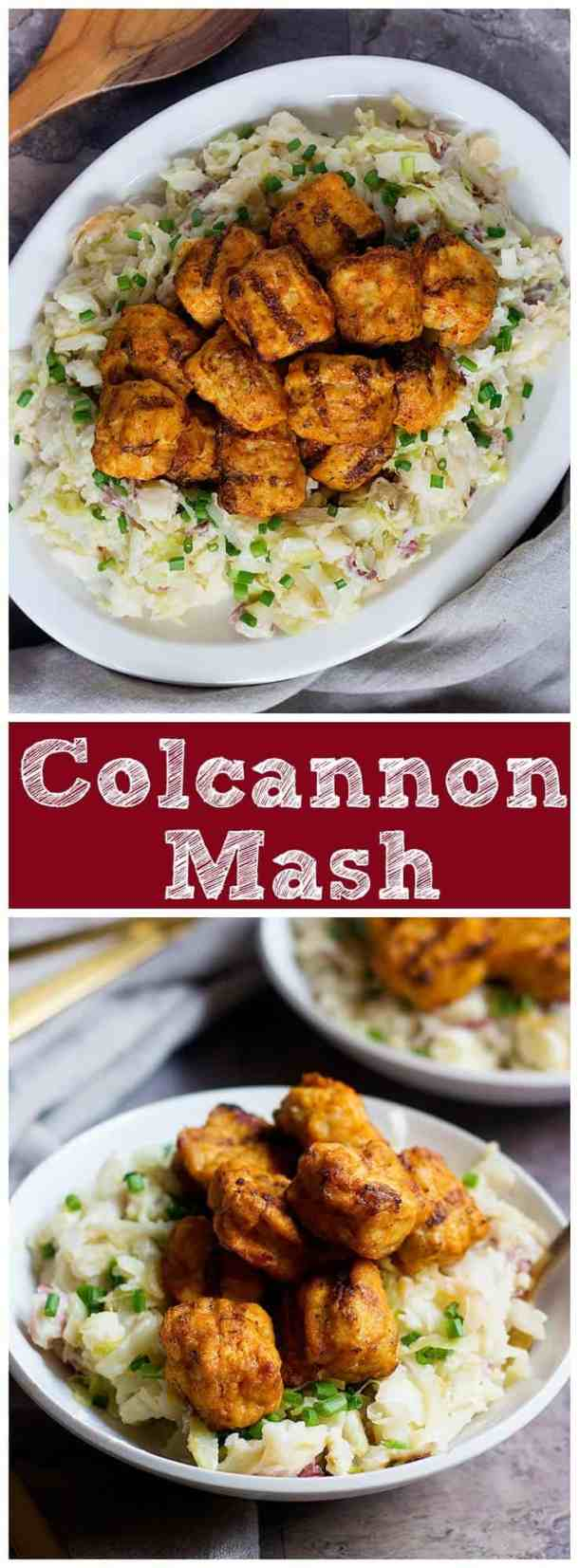 Colcannon Mash   Colcannon   Colcannon Recipe   Colcannon recipe Irish   Colcannon Potatoes   St. Patrick's Day Recipes   Vegetarian Recipes   Vegetables    Mashed Potatoes    Mashed Potatoes Recipes   UnicornsintheKitchen.com