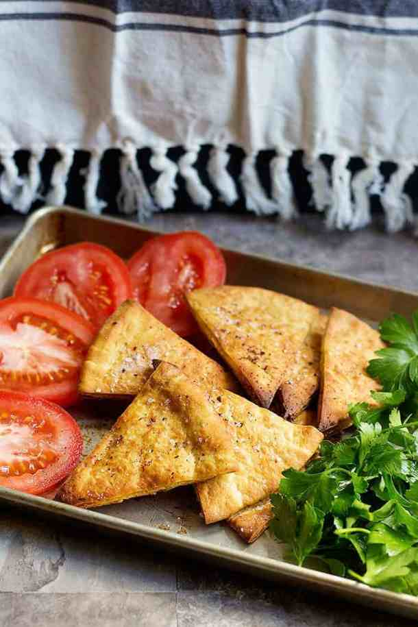This pita chips recipe is easy to follow and makes delicious chips!