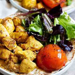 Joojeh Kabab (Persian Saffron Chicken Kebab)