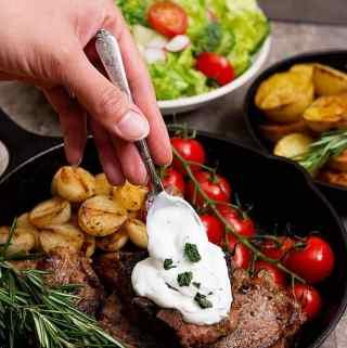 Lamb Loin Chops Recipe (Cast Iron)