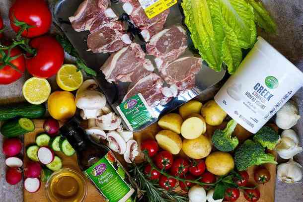 learn how to cook lamb loin chops with fresh and simple ingredients.