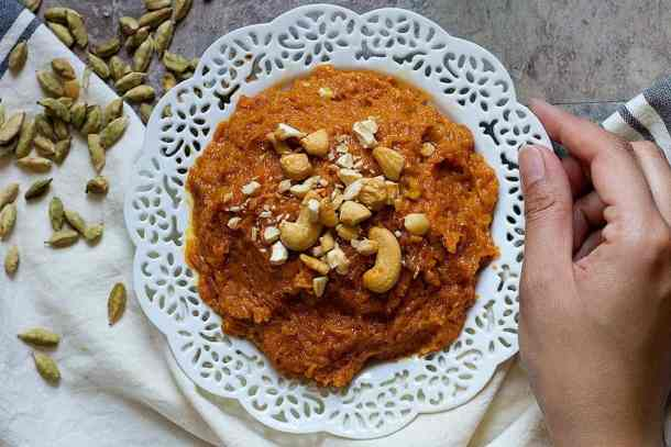 gajar ka halwa is a delicious carrot halwa which is very common in northern India.