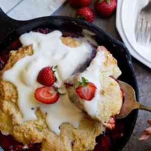 Best Strawberry Cobbler From Scratch