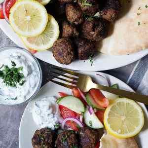 Easy Greek Meatballs Recipe (Keftedes)