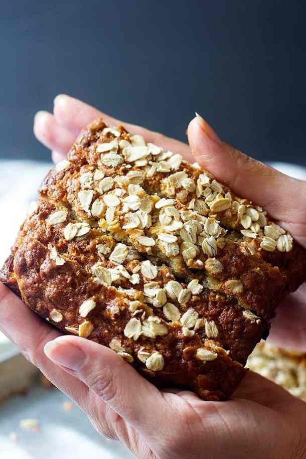 Store banana bread in an airtight container up to three days.