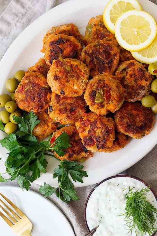 This Alaska salmon patties recipe is perfect for using up leftover salmon. These easy Alaska salmon patties are flaky and tender on the inside and crispy on the outside.