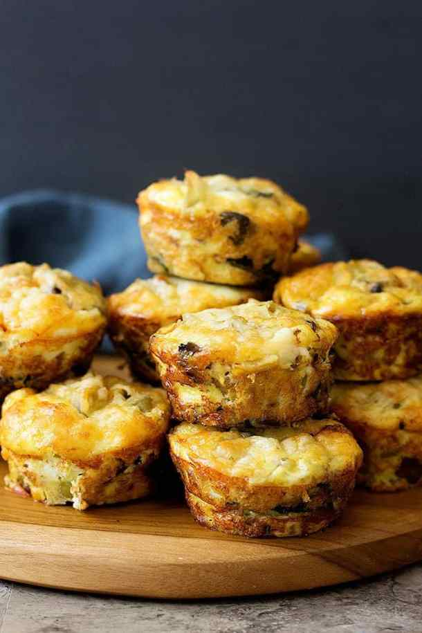 Sausage egg muffins are great for breakfast or brunch.