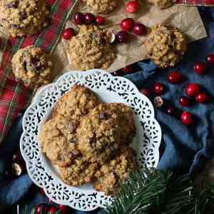 The Best Cranberry Oatmeal Cookies