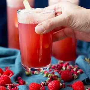 Rose Raspberry Party Punch Recipe