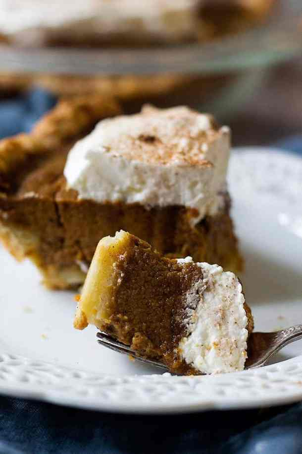 Learn how to make pumpkin pie from scratch with chai spices.