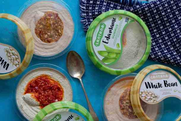 Hummus is a great add on to a mezze platter.