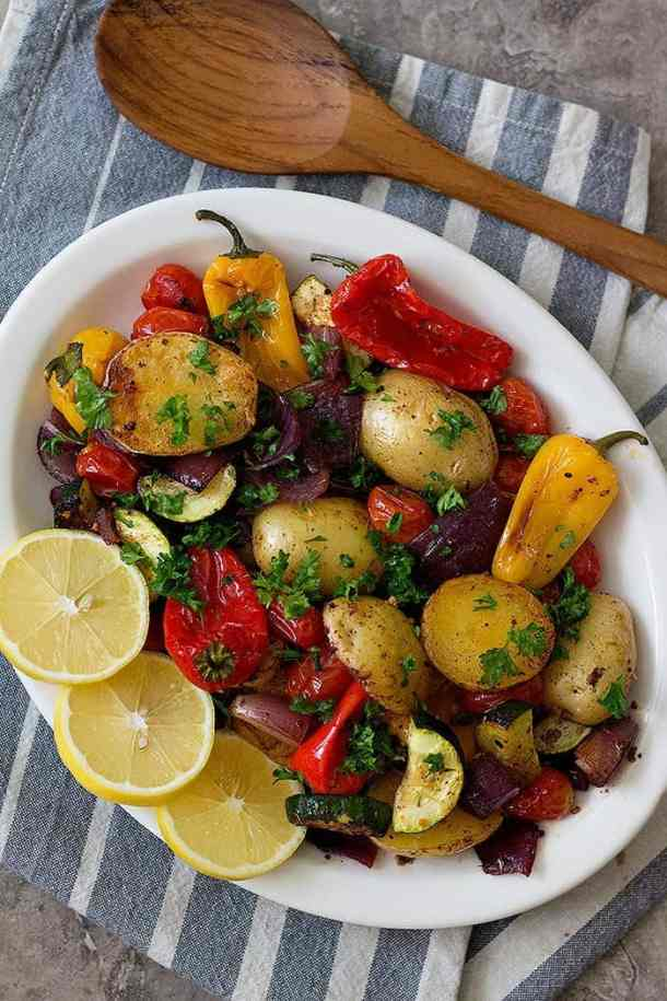 Oven roasted vegetables are a great side dish for almost any meal. Learn how to make tasty roasted vegetables that everyone loves and devours!
