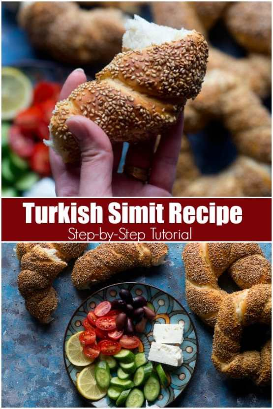Turkish Simit Recipe (Step-by-Step tutorial) • Unicorns in the Kitchen