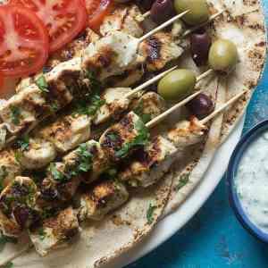 Easy Greek Chicken Souvlaki Recipe