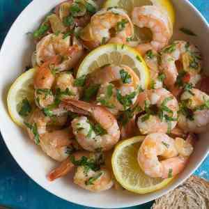 Best Garlic Lemon Shrimp Recipe