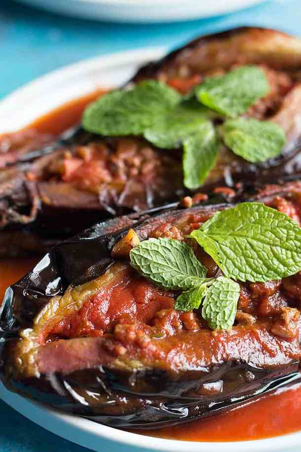 karniyarik is perfect for dinner.
