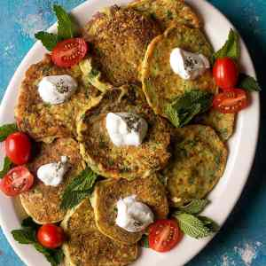 Turkish Zucchini Fritters Recipe (Mucver)