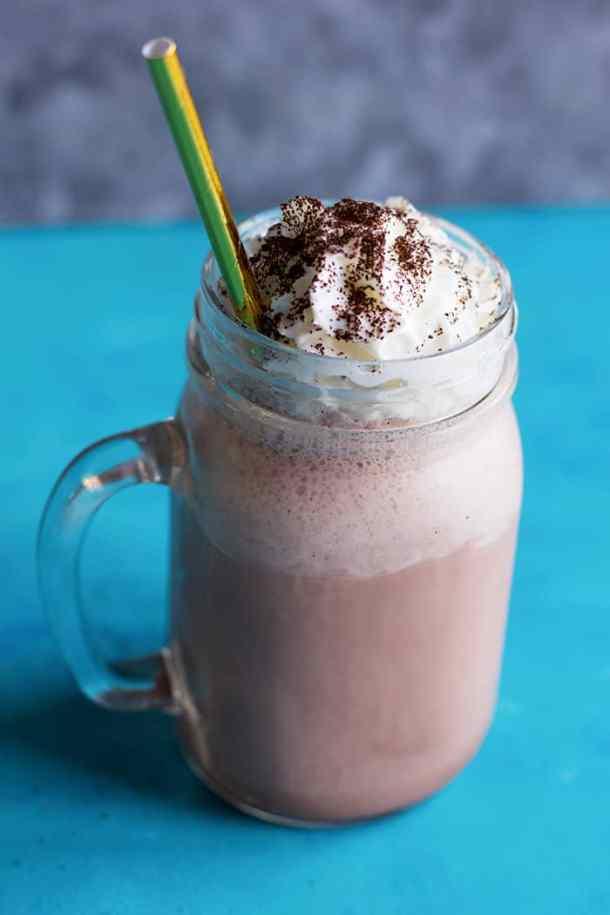 Coffee milkshake is every adult's favorite milkshake
