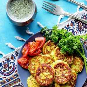 Persian Potato Patties Recipe (Kuku Sibzamini)