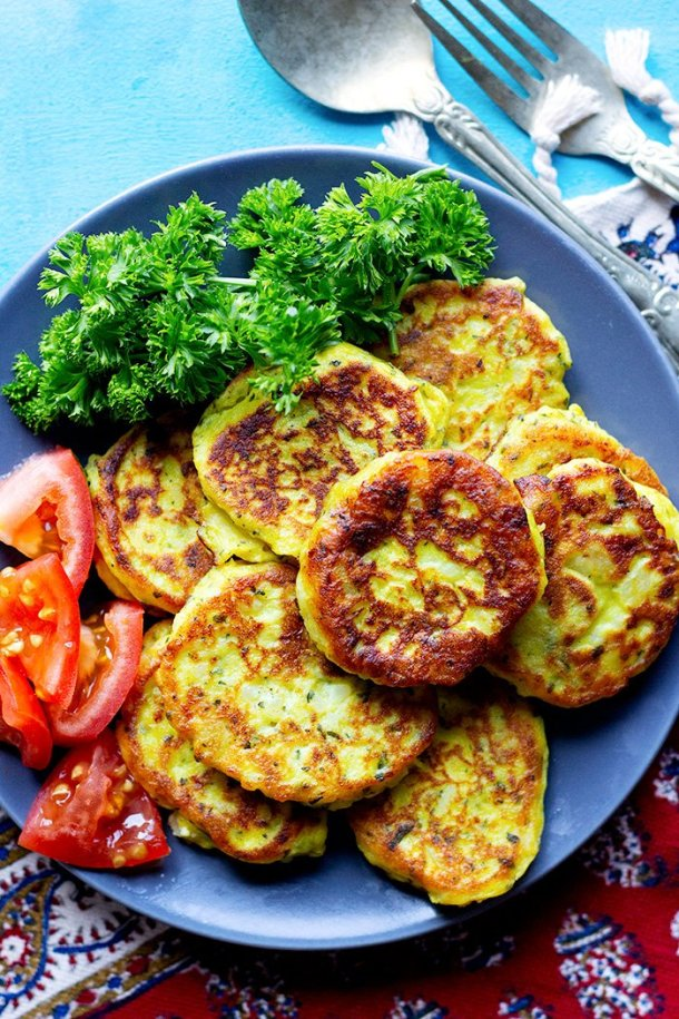 These potato patties are crispy on the outside and creamy and soft on the inside. Serve these homemade potato patties as an appetizer or a light meal.