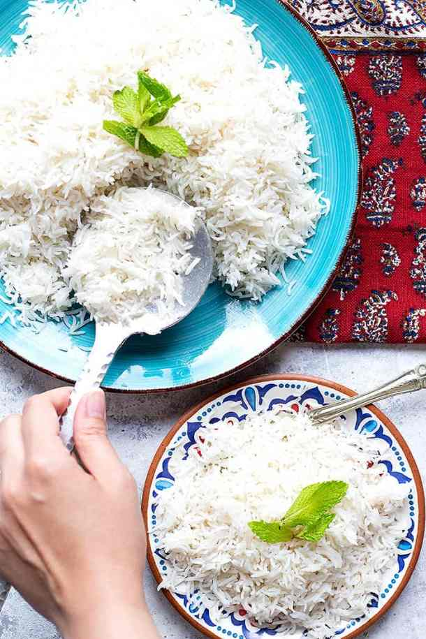 Instant pot white rice comes out perfectly every time. Learn how to make white rice in instant pot, the cooking time is only 5 minutes.