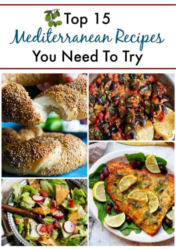 A complete collection of Mediterranean recipes.