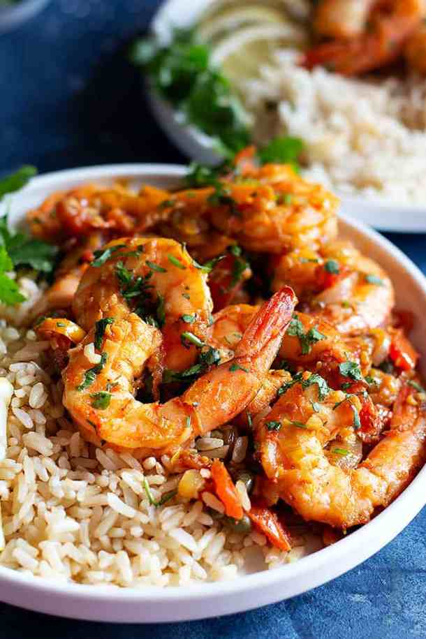 This easy Mediterranean-style sautéed shrimp recipe is packed with fresh flavors. The aromatic blend of spices will make you feel like you're dining in Spain or Greece without leaving your house!