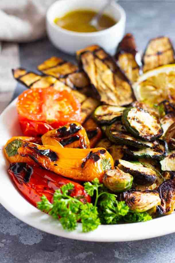 Mediterranean grilled vegetables are perfect for summer.