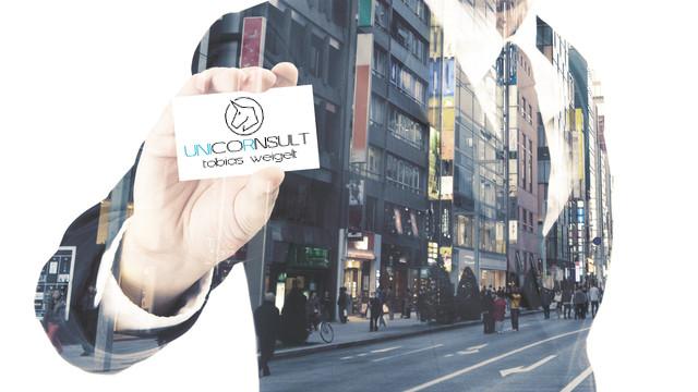 UNCORNSULT Kontakt Partner Email Telefon Visitenkarte Logo anrufen schreiben Kontaktformular Tippgeber