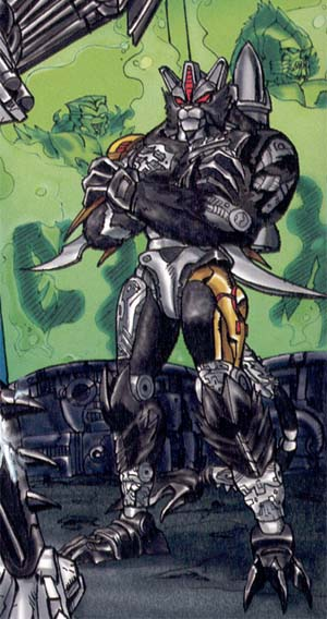 Deluxe Tripredacus Agent Ravage